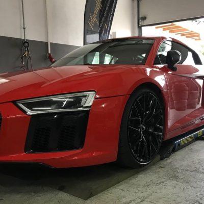 Audi R8 Werkstatt Service Felgeneffekt Memmingen GmbH